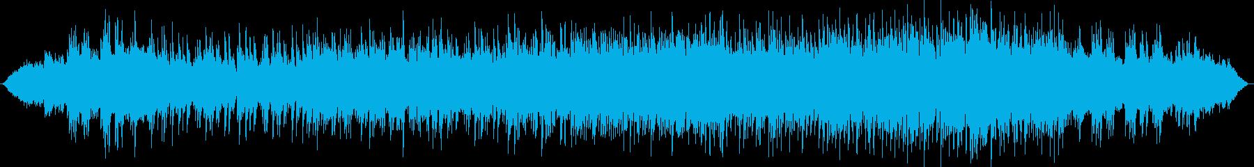 オーロラをイメージした癒しのバラードの再生済みの波形