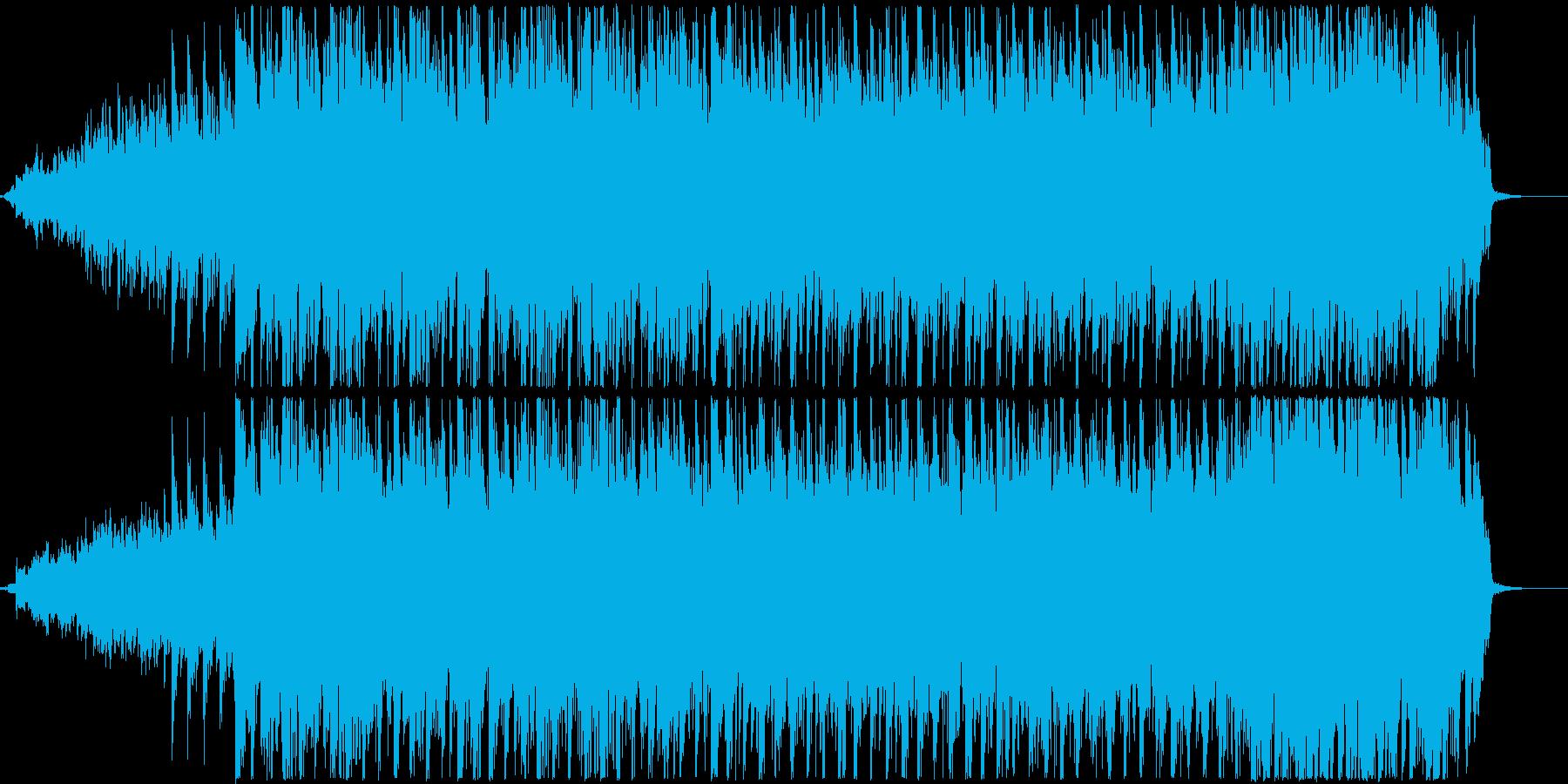 ピアノとギター、口笛を使用したポップな曲の再生済みの波形