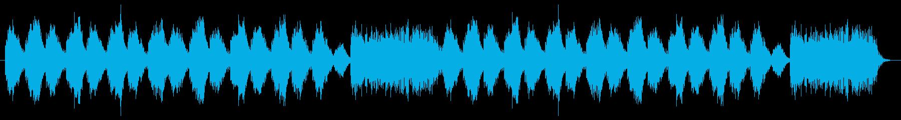ドラマティックで切ないメロディーの再生済みの波形