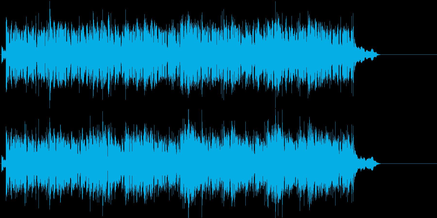ゆったりと気分の落ち着くバラードポップスの再生済みの波形