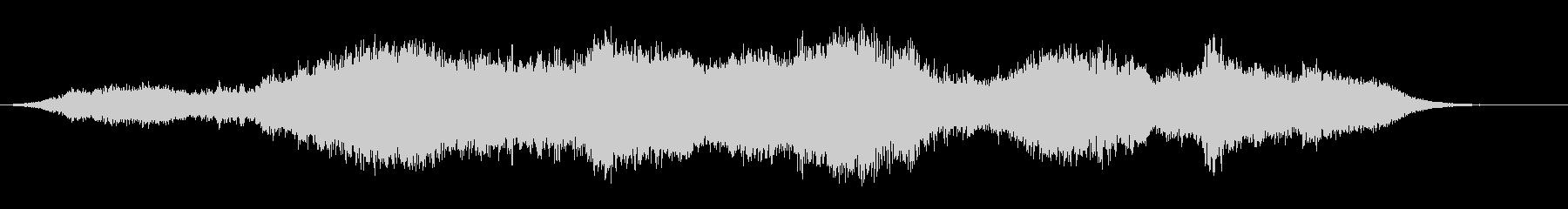 シャープピアスメタリックリングの未再生の波形