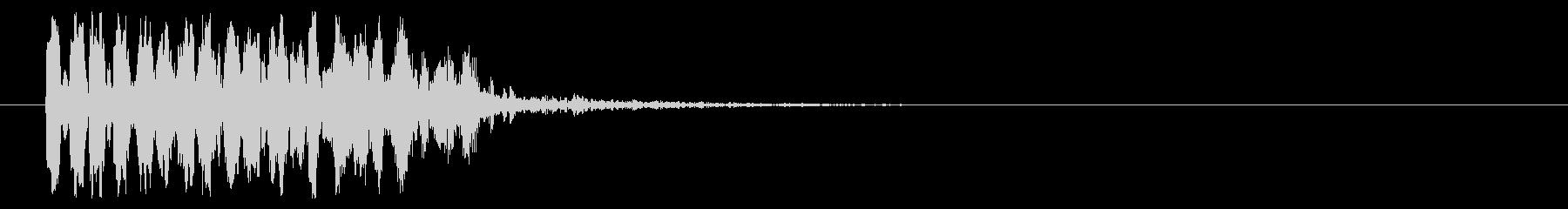 8ビット風シューティング音-02-5_rの未再生の波形