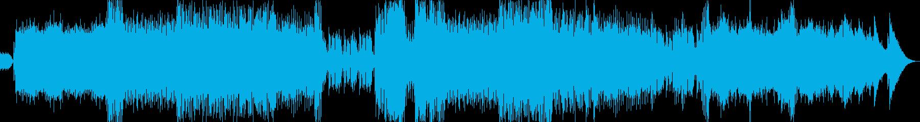 背景をポップします。感情的な歌の内...の再生済みの波形
