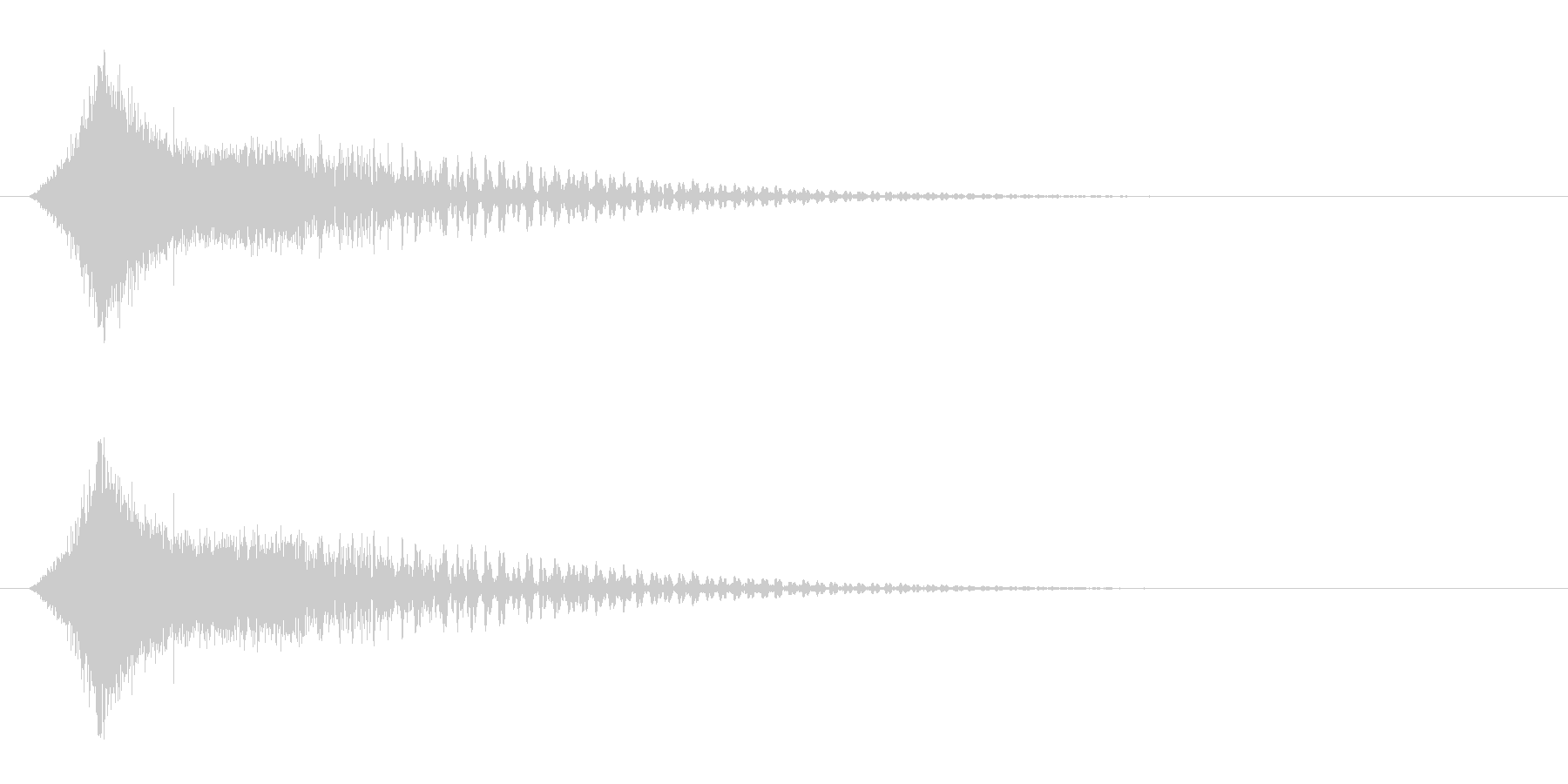 シューン!(カットイン/敵消滅/ワープ)の未再生の波形