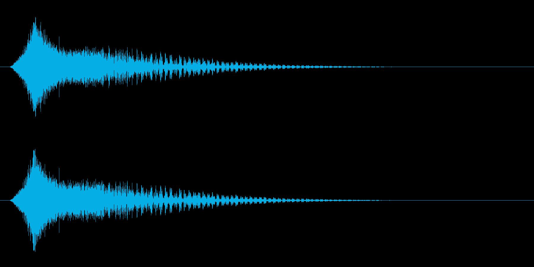 シューン!(カットイン/敵消滅/ワープ)の再生済みの波形