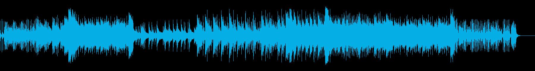 【和風】琴と尺八の切ないバラードの再生済みの波形