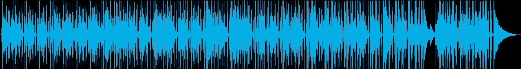 ゆるくてさわかなブラジリアンテイスト曲の再生済みの波形
