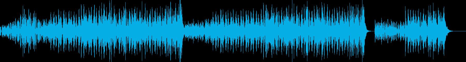 尺八・和風EDMロックの再生済みの波形