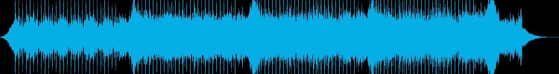 企業VP系45、爽やかギター4つ打ちbの再生済みの波形