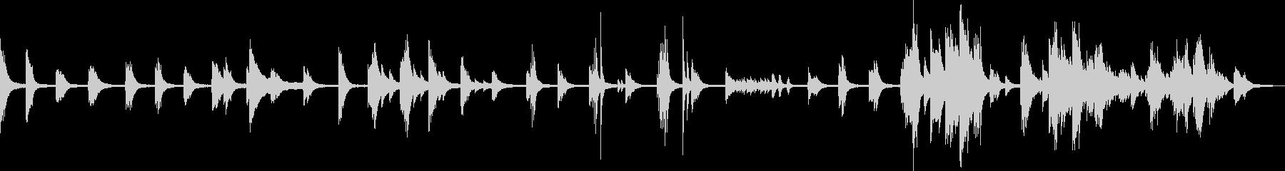 A sad piano piece full of despair and loss's unreproduced waveform