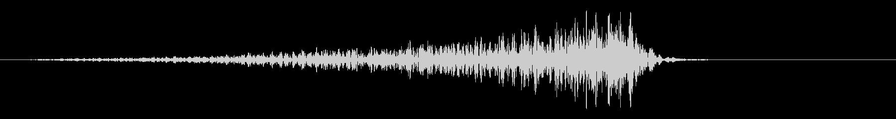 SWELL ディープノイズランブル02の未再生の波形
