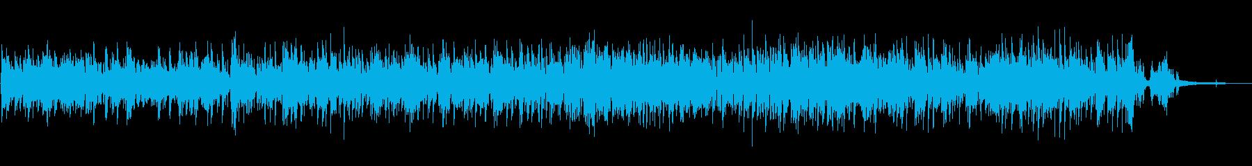 軽快で爽やかアコースティックピアノポップの再生済みの波形