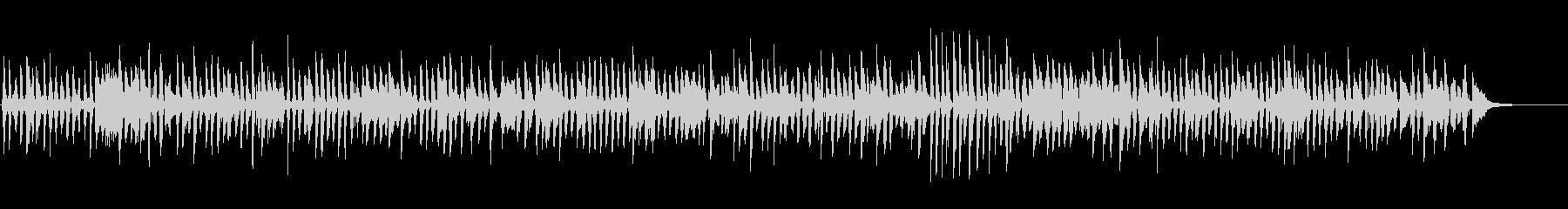 昭和な雰囲気のレトロなジャズピアノバンドの未再生の波形