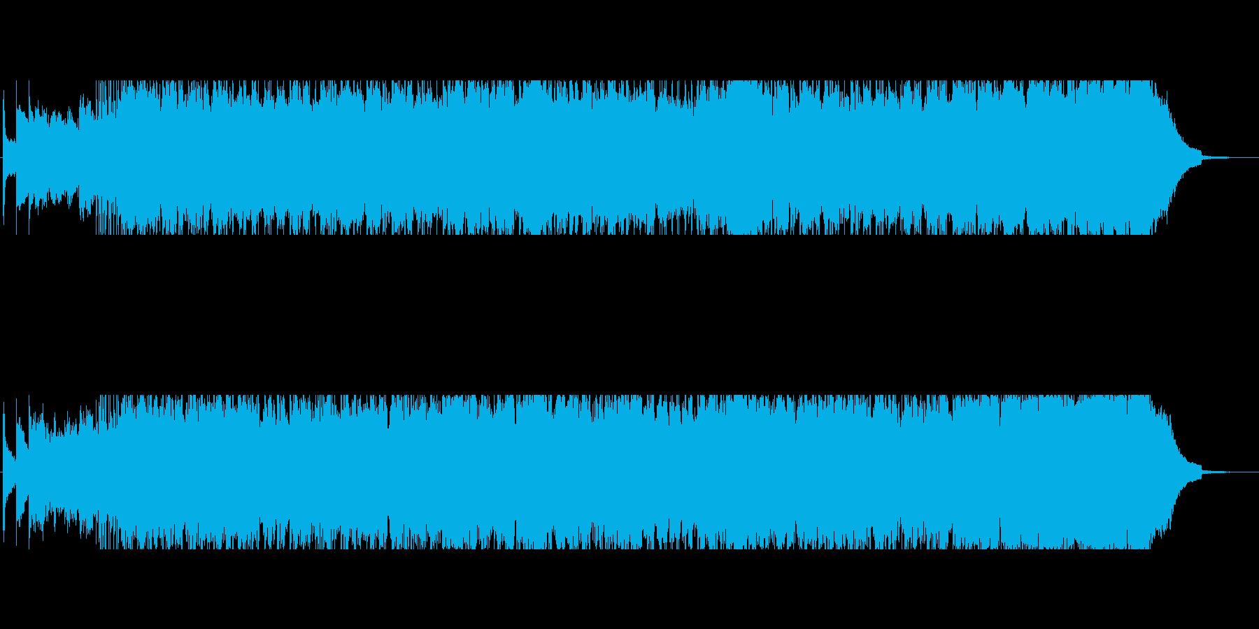 決意 再生 始動で不思議な力がみなぎる曲の再生済みの波形
