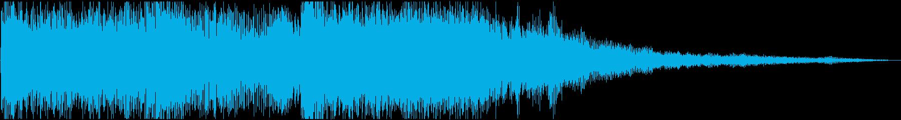【シネマティック】 HIT_05 衝動の再生済みの波形