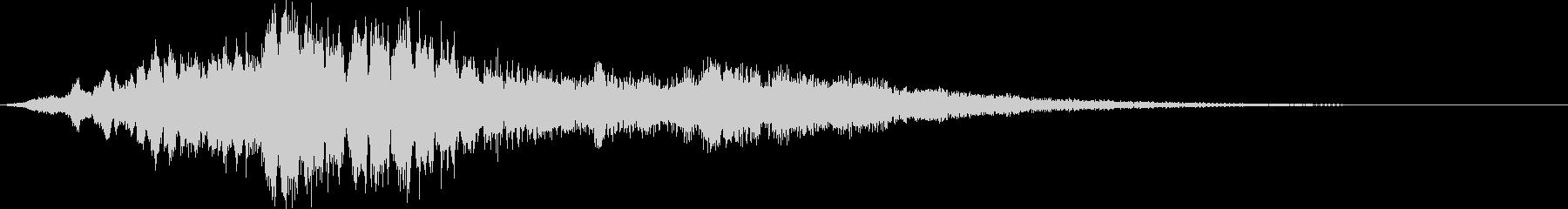 パルサーロゴ3の未再生の波形