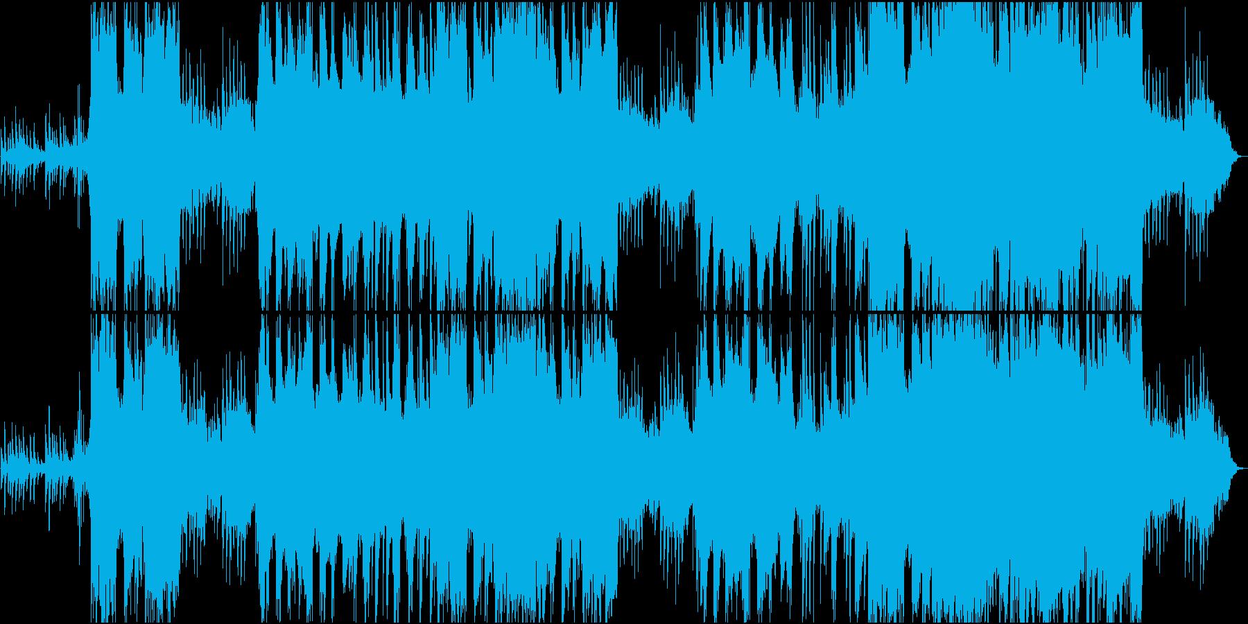 天女、五音、幻想的なシンセ&生演奏の二胡の再生済みの波形