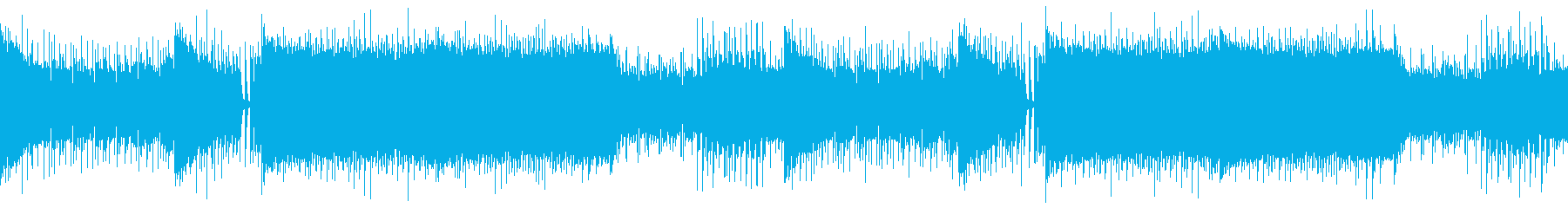 【ループ版】EDM アグレッシブ…の再生済みの波形