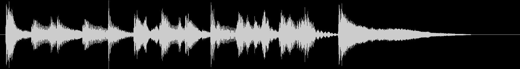 ゲーム実況OP用ミュートサックスジャズの未再生の波形