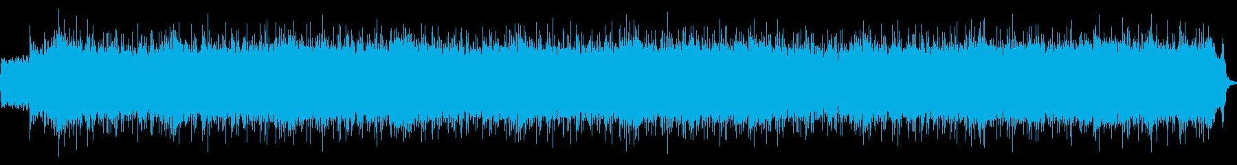 キャロル・オブ・ザ・ベルのロックアレンジの再生済みの波形