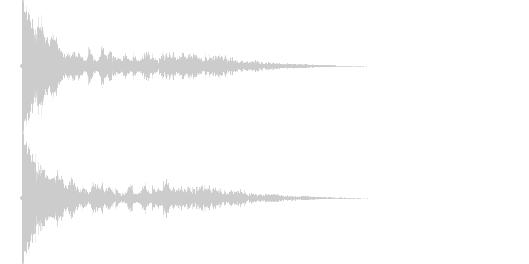カン、キュン(金属、FX)の未再生の波形