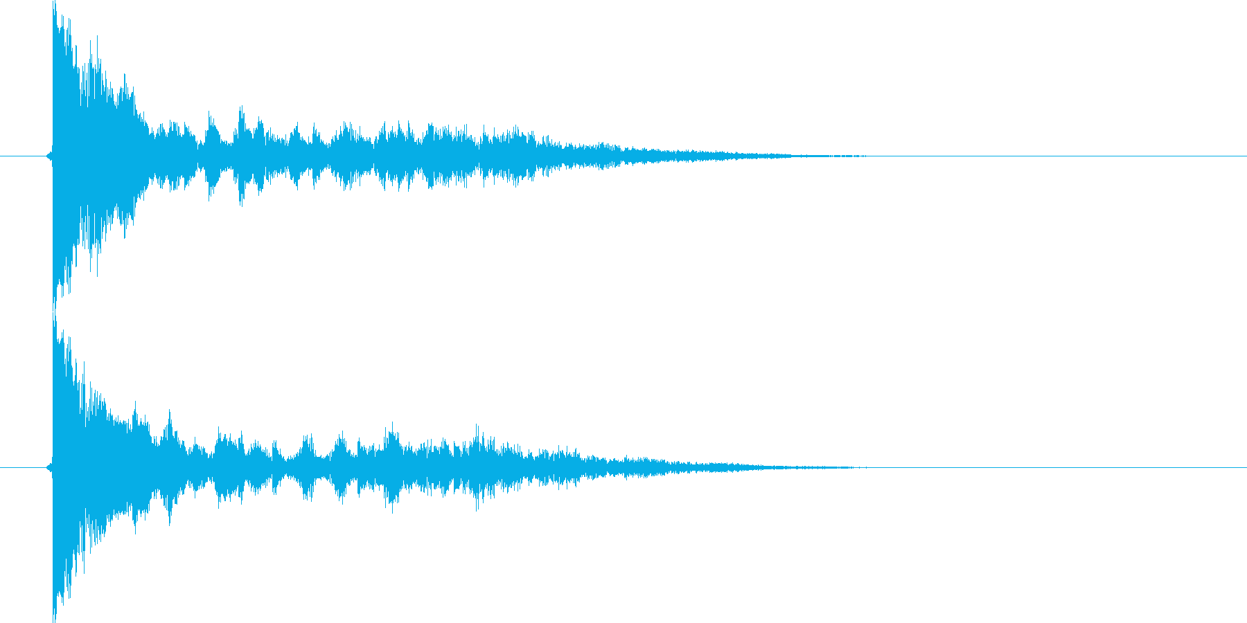 カン、キュン(金属、FX)の再生済みの波形