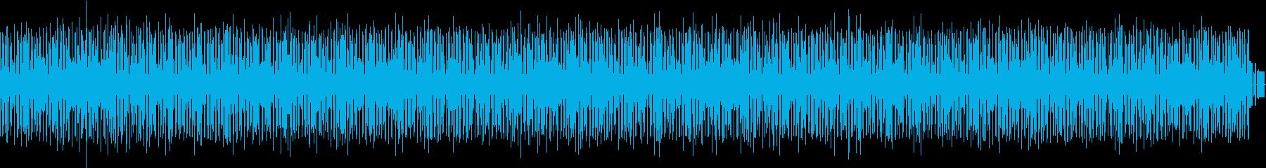 コミカルでヘンテコな楽曲 劇伴の再生済みの波形