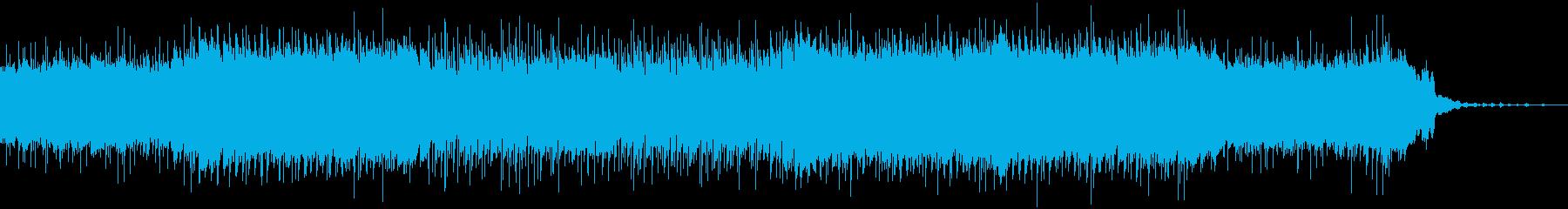 生演奏・エレキギター・ブルース・コミカルの再生済みの波形