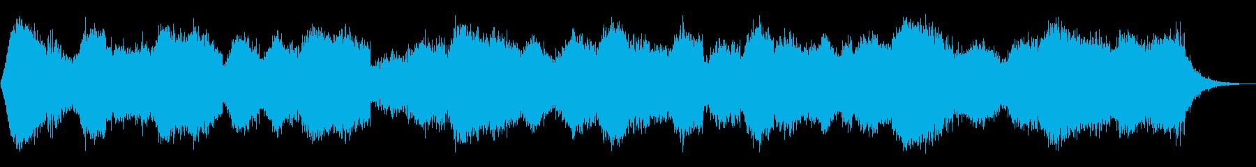 重厚なシネマティック・アンビエントの再生済みの波形