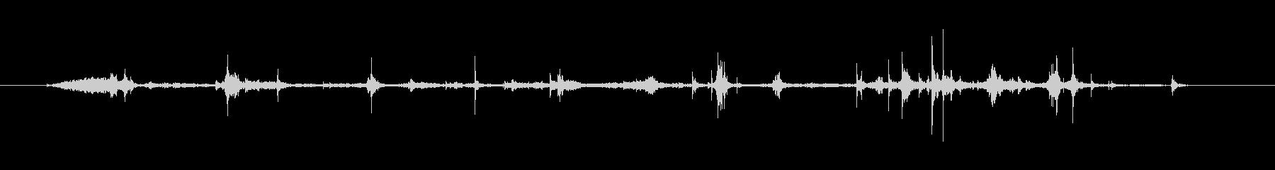 標準レターエンベロープ:マルチシー...の未再生の波形