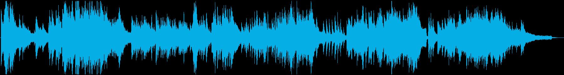 幻想的なピアノソロ。朝焼けのイメージ。の再生済みの波形