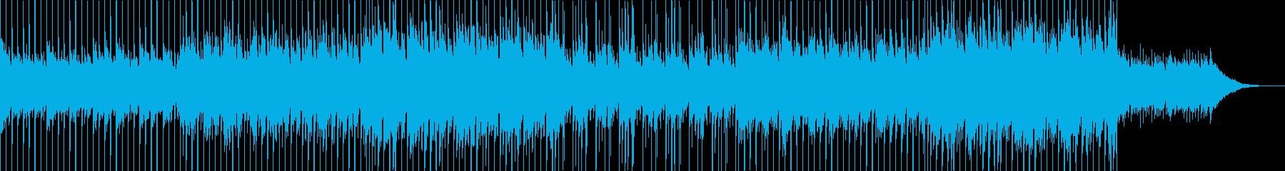 新生活が始まりそうな透明感のある曲の再生済みの波形