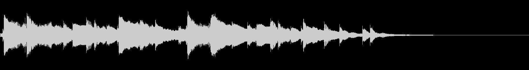 アロハオエの一部の未再生の波形