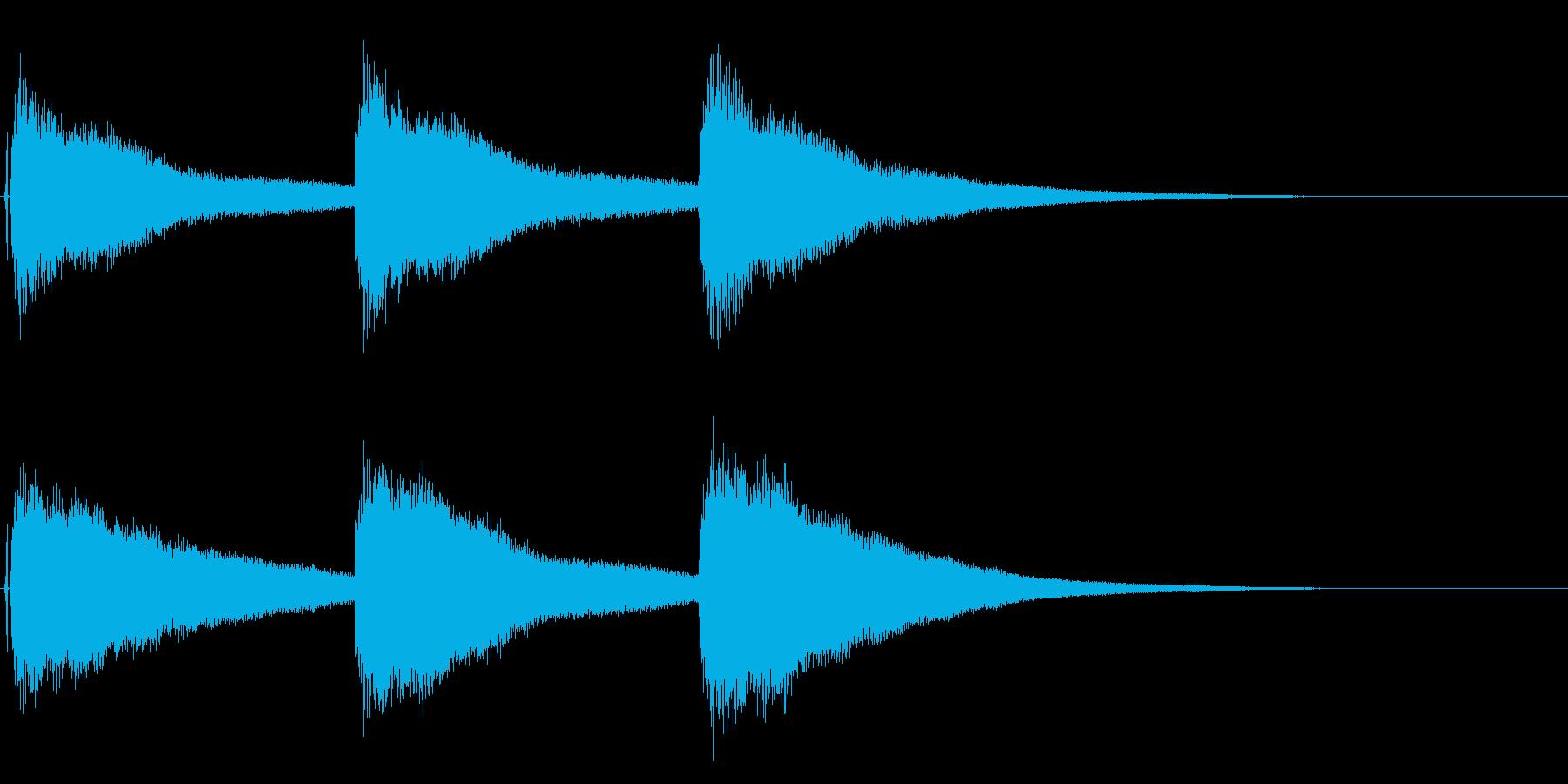 結婚式や教会の鐘の音として最適です!05の再生済みの波形