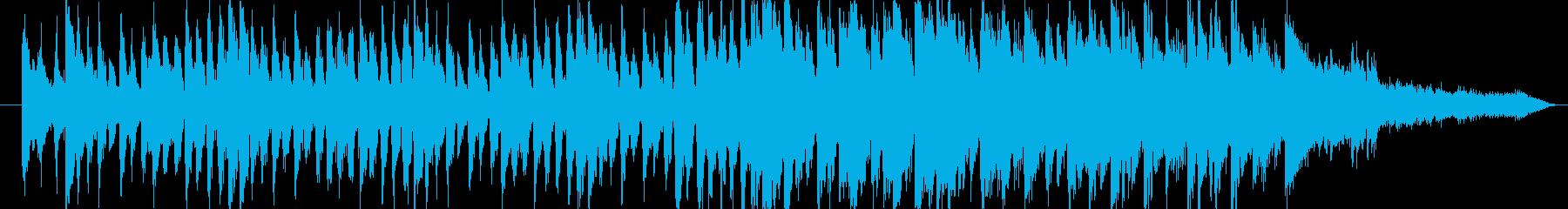 情報番組系 ジングル 爽やか 30秒 の再生済みの波形