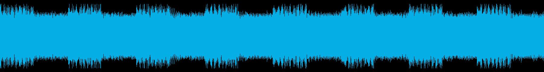 アラート音・エラー音の再生済みの波形