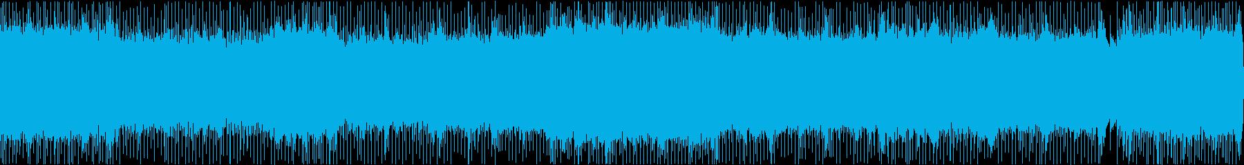歌謡曲風ミドルテンポロックの再生済みの波形
