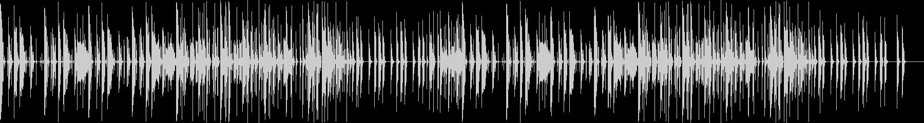 コミカル調の可愛いポップスの未再生の波形