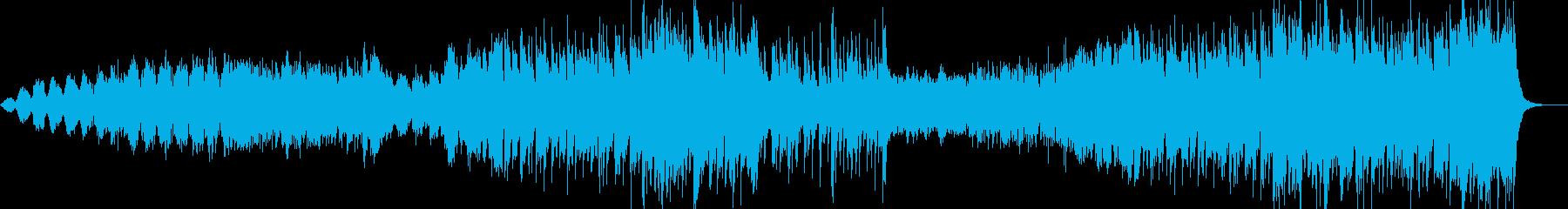 中華風BGMの再生済みの波形