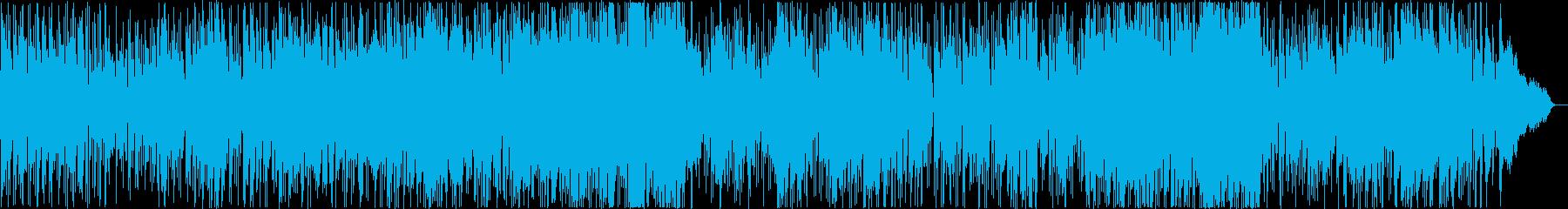 爽やかなフルートとストリングスのボサノバの再生済みの波形