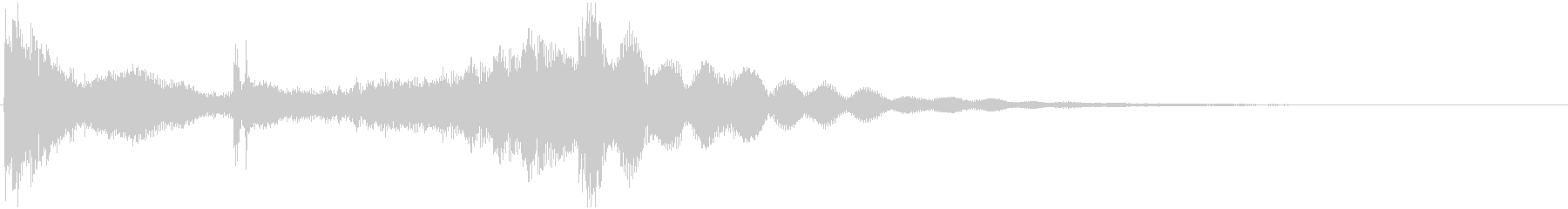 和太鼓登場ジングル1の未再生の波形