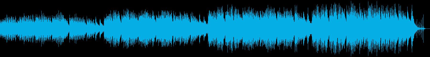 冷たい風の中での再生済みの波形