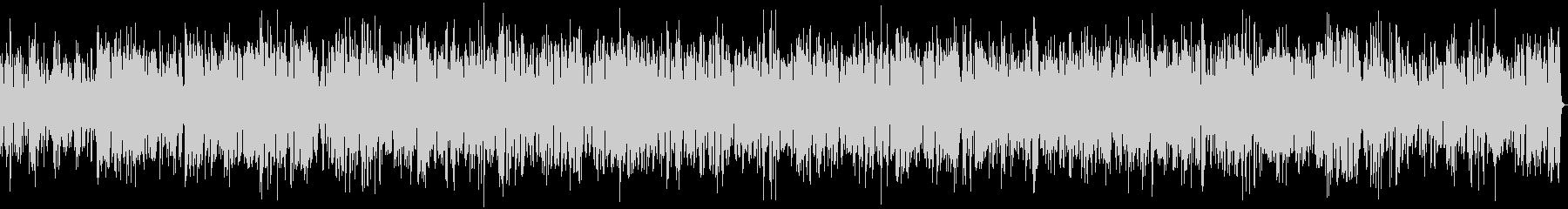 ボサノバ癒し系ビブラフォンとジャズピアノの未再生の波形