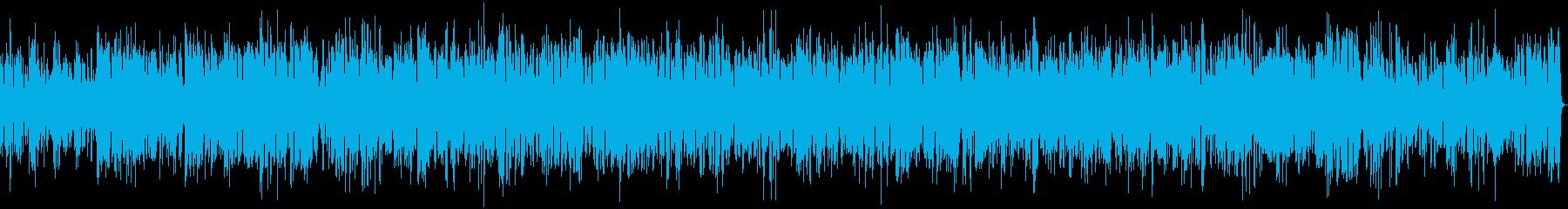 ボサノバ癒し系ビブラフォンとジャズピアノの再生済みの波形