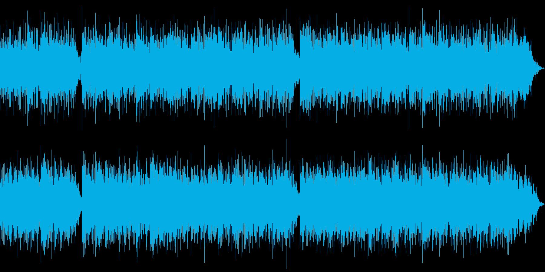 テーマ「ボスから逃げろ」1分BGMの再生済みの波形