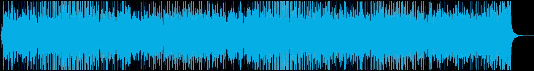 使いやすい!ポップな和風BGM6の再生済みの波形