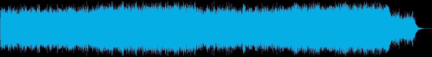 ヒーリング&リフレッシュの再生済みの波形