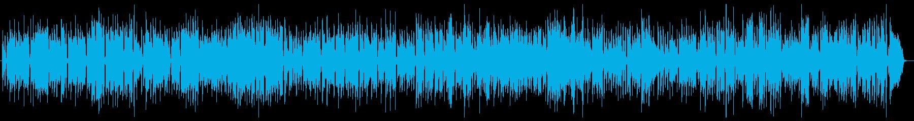 爽やか穏やか、青空や海ビッグバンドジャズの再生済みの波形