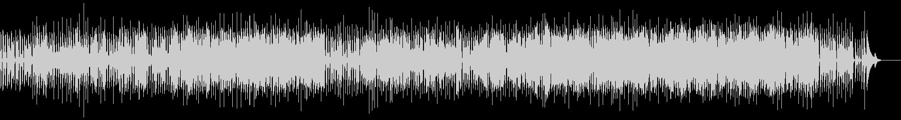 独特な歌詞のアコースティック楽曲の未再生の波形