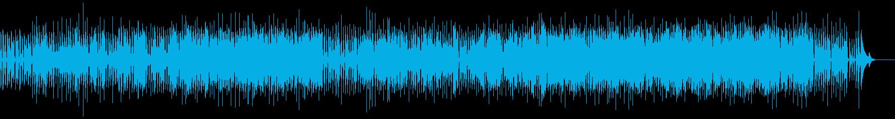 独特な歌詞のアコースティック楽曲の再生済みの波形